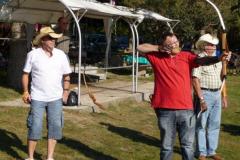 Abschlussschießen der Bogensport-Gruppe 02. Oktober 2011